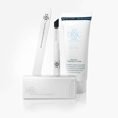 Deep Sea Cosmetics   Platinum Nail Kit - Deep Blue