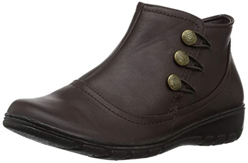 Easy Street Womens Agatha Ankle Bootie