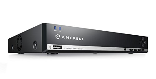 Amcrest 960H 4CH w/ 500GB HD Security Camera DVR (Cameras Not Included) by Amcrest