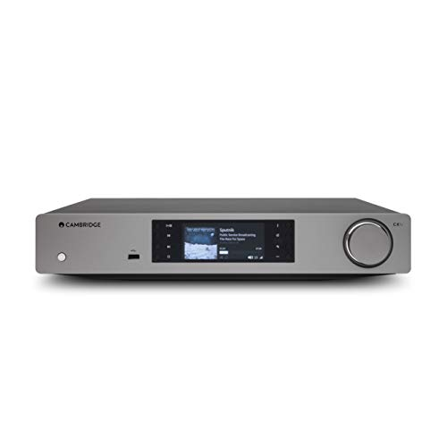 Cambridge Audio CXN V2 Stereo Network Streamer - All-in-One Wireless Media Streaming with WiFi (Lunar Grey)