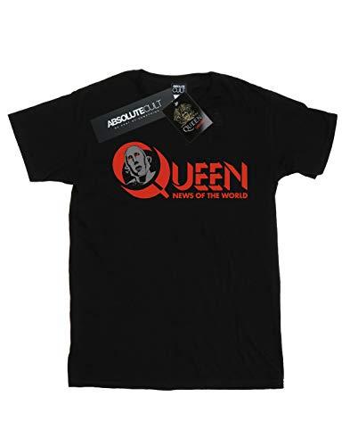 negra del Logo camiseta Men Cult Noticias Absolute Queen mundo ZwTq8C4