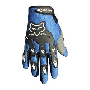 ATV Street Bike Motorcycle Gloves 07 Blue (XL)