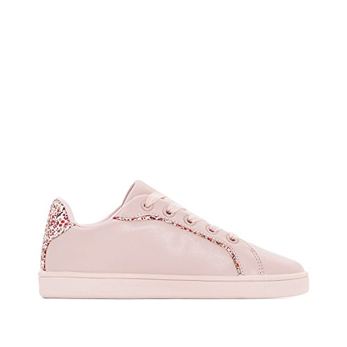 La Redoute Collections Big Girls Liberty Detail Trainers Pink Size 39 (5.5 to 6) by La Redoute