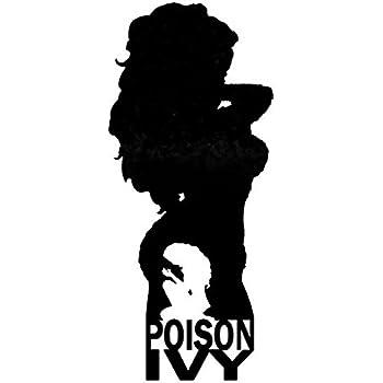 Amazon Com Dc Comics Batman Villian Poison Ivy Silhouette Vinyl