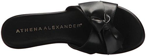 Athena Alexander Vrouwen Giada Wedge Sandaal Zwart