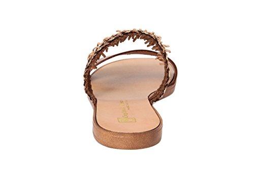 GAGLIANI RENZO - Sandalias de vestir de Material Sintético para mujer marrón marrón