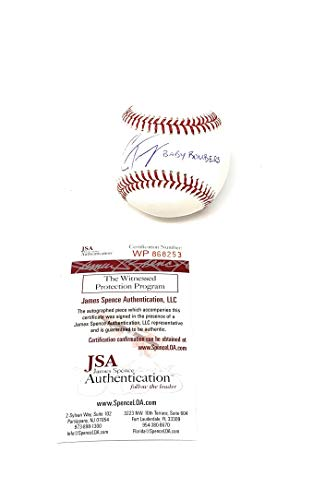 Gleyber Torres New York Yankees Signed Autograph Official MLB Baseball BABY BOMBERS Inscribed JSA Witnessed Certified