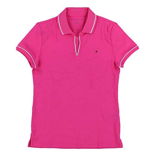 (Tommy Hilfiger Womens Emma Polo Shirt (Large, Pink))