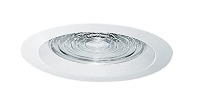 Juno Lighting 22-WH 6-Inch Fresnel Trim with White Trim Ring