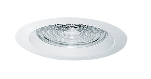 Juno Lighting 22-WH 6-Inch Fresnel Trim with White Trim Ring -