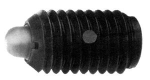 1/4''-20 x 17/32'' Light End Force Carbon Short Spring Plunger w/Locking Element, Pack of 10