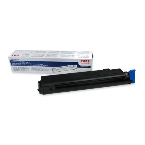 - Okidata 43979101 B410 Series Toner Cartridge 3.5K