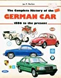 Complete History of the German Car, Outlet Book Company Staff and Random House Value Publishing Staff, 0517641801