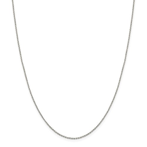 - Beautiful Sterling silver 925 sterling Sterling Silver 1.25mm Diamond-cut Cable Chain