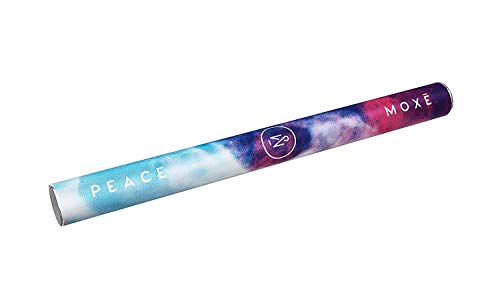MOXĒ Peace | Essential Oil Pen | Aromatherapy Inhaler for Stress, Anxiety, and Relaxation | Certified Organic Bergamot, Mandarin, Geranium and Lime