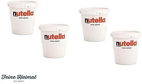 4 X Ferrero Nutella 3 Kg Amazon Co Uk Grocery