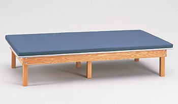 Upholstered mat platform 4'x7' CLINTON CLASSIC WOOD MAT PLATFORMS For Physical Therapy - Exercise Equipment - Fitness Item# 240-47 by Clinton - Platform Mat Upholstered