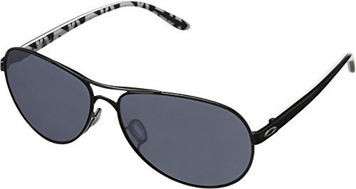 Oakley Feedback Non-Polarized Iridium Aviator Sunglasses,Met