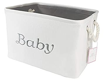 Amazon.com: Cesta de almacenamiento para guardería, bebé ...