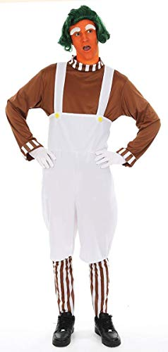 Adult Men's Chocolate Worker Costume]()