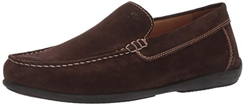 - Geox Men's ASCANIO 2 Suede Driving MOC Loafer Flat, Coffee 43 Medium EU (10 US)