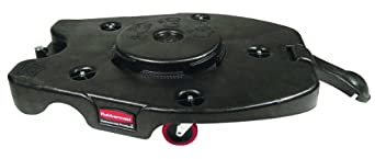 Rubbermaid Commercial FG265100 Brute Trainable Dolly, 250 lbs. Capacity