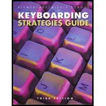 Elementary-Middle School Keyboarding Strategies Guide 9780933964365