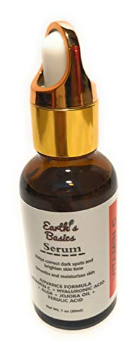 Earth's Basics Vitamin Serum For Face Spot With Acid oz.