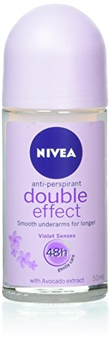 Nivea Womens Deodorant Roll-On Double Effect 50 Ml