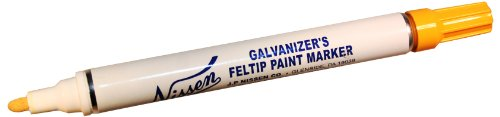 nissen-gfye-galvanizers-feltip-paint-marker-yellow-pack-of-12
