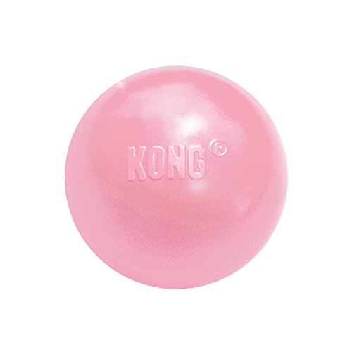 KONG – Puppy Ball – Soft Rubber, Dog Fetch Toy for Teething Pups (Assorted Colors) – for Small Puppies