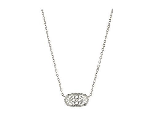 Kendra Scott Signature Elisa Pendant Necklace (Silver Plated/Silver ()