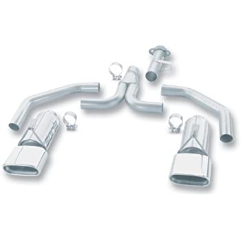 Low Cost Exhaust >> Low Cost Magnaflow 15658 Stainless Steel 2 5 Dual Cat Back