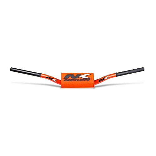 NEKEN Guidon Fat Bar 28.6mm Orange Fluo 133 McGrath 820//110//73