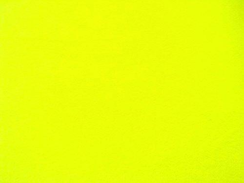 4 Yard Bolt Anti Pill Neon Yellow Fleece Polyester Fabric