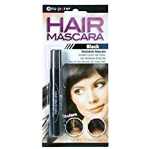 Hair Mascara Instant Touch up Color Fast Results on Gray Hair by nu-pore