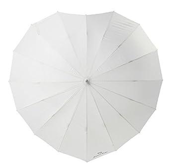 "5303378fbd51f ""FOREVER LOVE"" Print - Heart Shaped Bridal Wedding Umbrella ..."