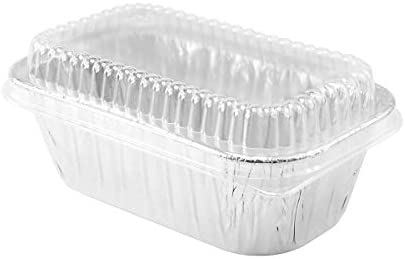 Disposable Aluminum 1 lb. MINI Loaf Pans