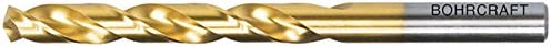 Bohrcraft Spiralbohrer DIN 338 HSS-TiN Split Point Typ N, 2,5 mm in BC Quadropack, 10 Stück, 11300100250