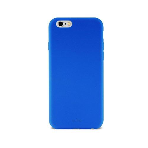 Puro Icon IPC647ICON Coque en silicone pour iPhone 6/6S Bleu