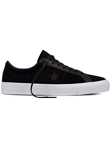 - Converse Men's One Star Pro, BLACK/WHITE, 9 M US