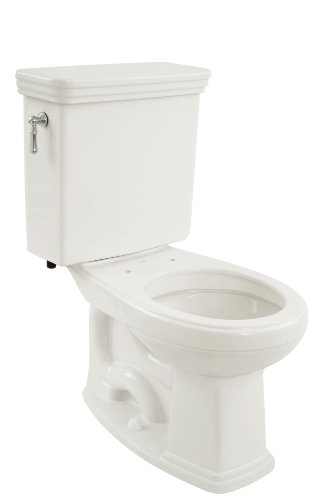 TOTO CST423SF#01 Promenade G-Max Round Bowl and Tank Universal Height, Cotton White - 01 Promenade Lavatory
