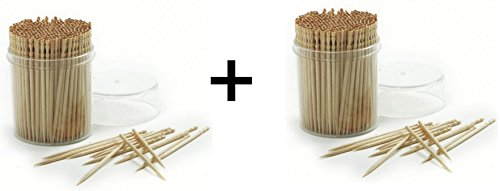 Norpro 360 Pack Ornate Wood Toothpicks