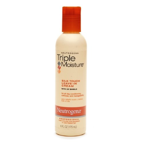 Neutrogena Triple Moisture Silk Touch Leave-in Cream 6 oz (2 Pack) ()