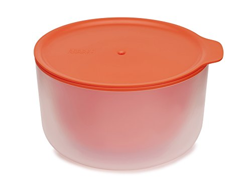 Plastic Microwave - Joseph Joseph 45009 M-Cuisine Cool Touch Microwave Large Bowl, 2.1 quart, Orange