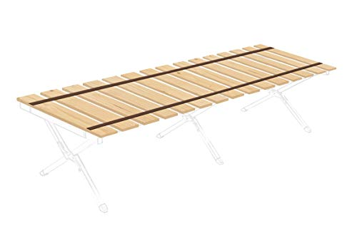 (Cot Support Slat Boards for Camping, Travel, Military Cots, RV Bunks - Cut to The Custom Width of Your Choice - Attached with Brown Strapping - Free Carry Bag Included (36