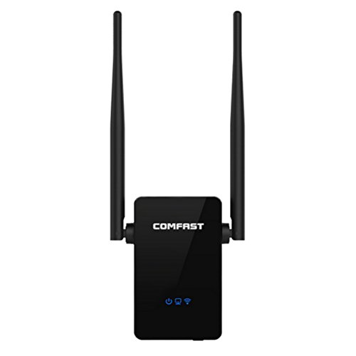WiFi Range Extender,ZONV COMFAST 300Mbps Wireless-N , WiFi Repeater With 360 Degree Full Coverage by ZONV
