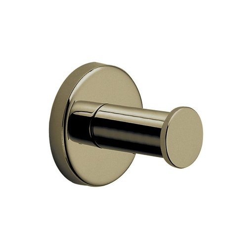Rohl LO7TCB Lombardia and Avanti Bath Robe Hook, Tuscan Brass