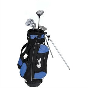 Confidence Junior Golf Club Set with Stand Bag (Right Hand, Ages 8-12) Grip On Driver