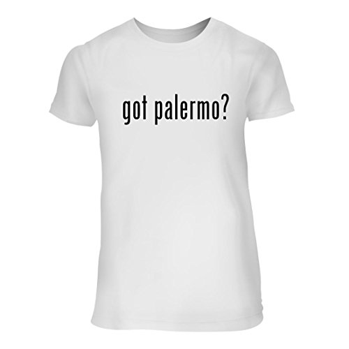 fan products of got palermo? - A Nice Junior Cut Women's Short Sleeve T-Shirt, White, Large